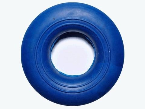 Эспандер кольцо, большой, ребристо-гладкий, нагрузка 45кг, цветн. :(23045PS):