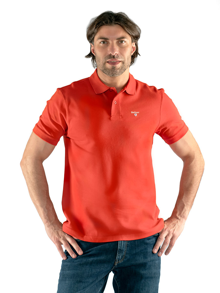Barbour поло Sports Polo MML0358/RE66