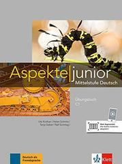 Aspekte junior C1 Uebungsbuch mit Audios zum Do...