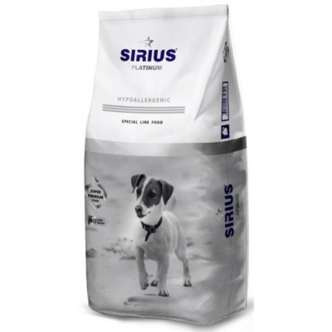 Sirius Adult Dog Small Breed Turkey - 8 кг
