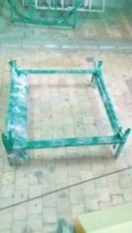 Душ дачный квадратный 2200х900х900