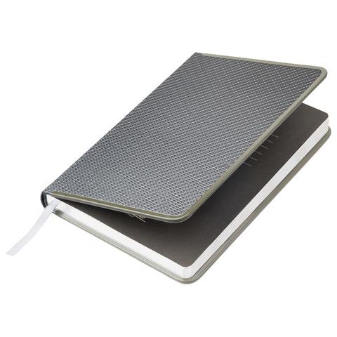 Ежедневник недатированный - Portobello Carbon, серый А5