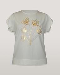 Блузка Per Mio 1447 букет к/р