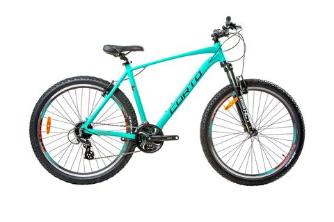 Горный велосипед Corto Sly 2021 зеленый