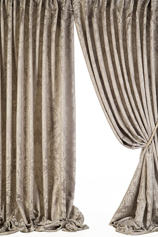 Комплект штор Lilin (серый)