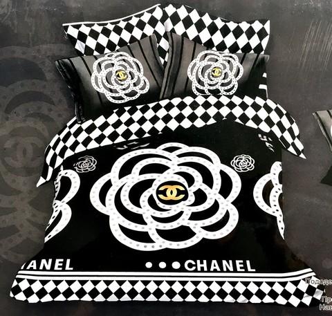 Шанель - постельное белье 0037