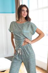 Пижама с коротким рукавом Mia-Mia оливка