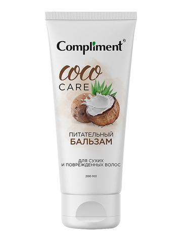 Compliment COCO OIL питательный бальзам для сухих и поврежденных волос