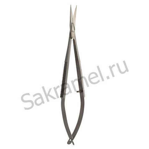 Ножницы для кожи изогнутые (твизеры) СS-908-D (CVD)