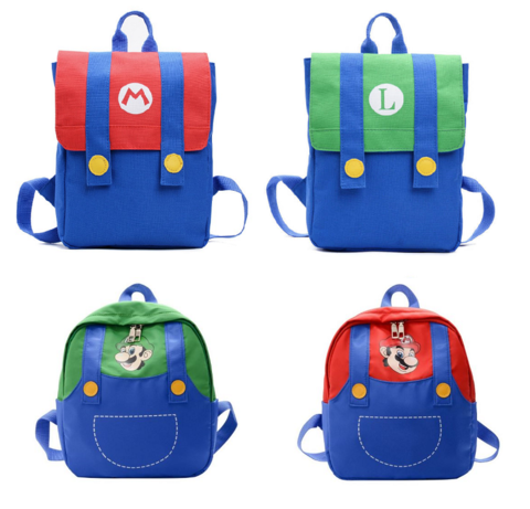 Супер Марио рюкзак Марио и Луиджи в ассортименте
