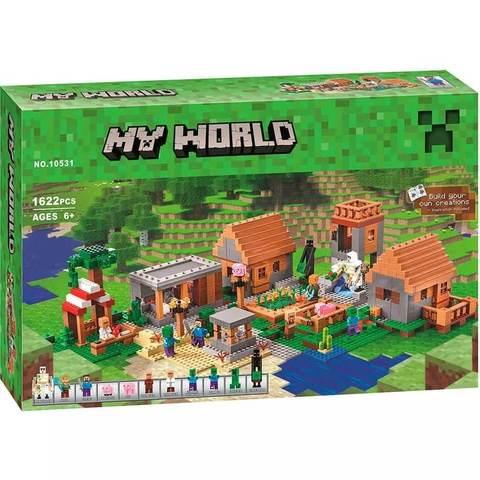 Конструктор My World 10531 Деревня