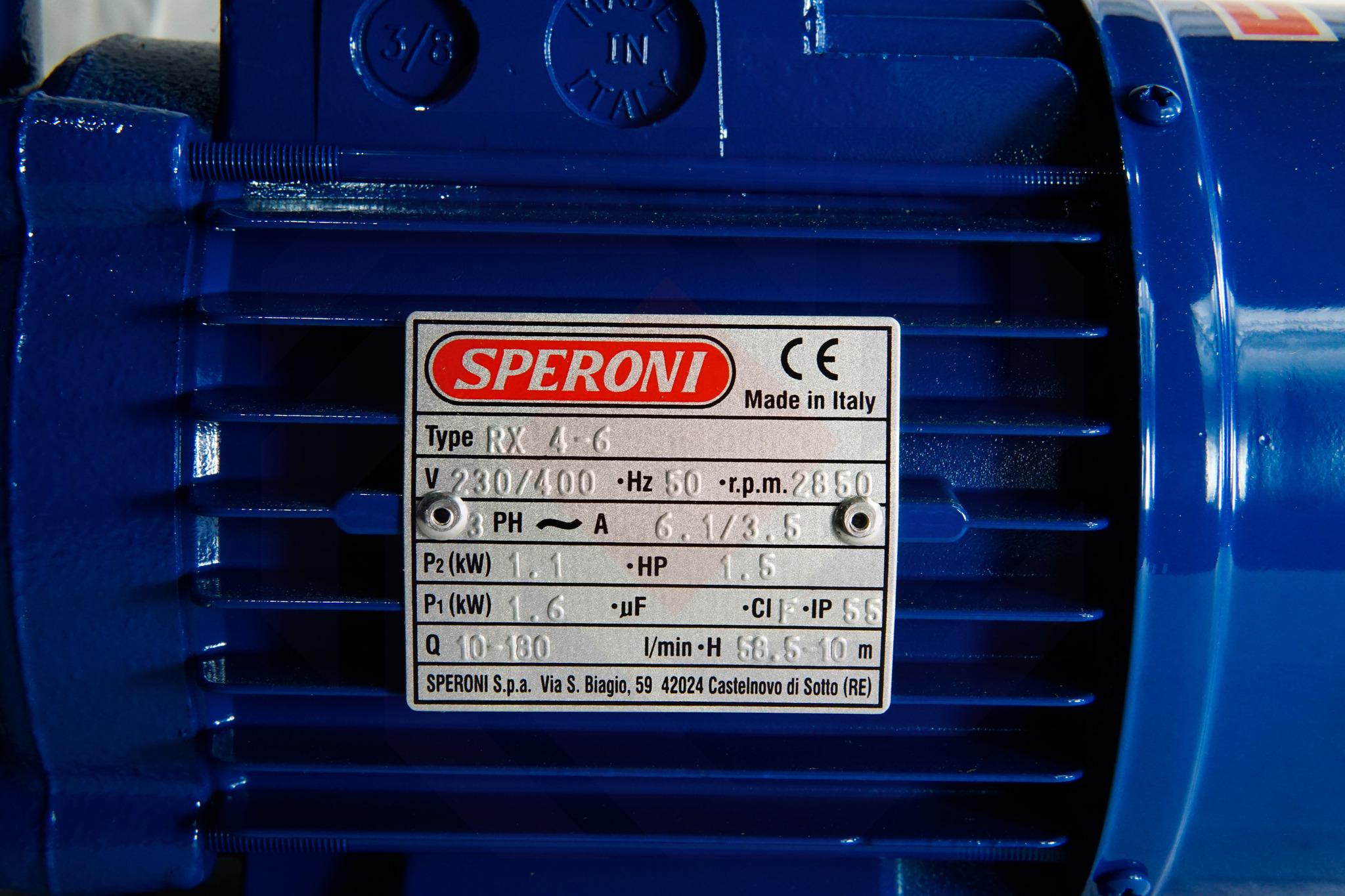 Насос повысительный SPERONI RX 4-6