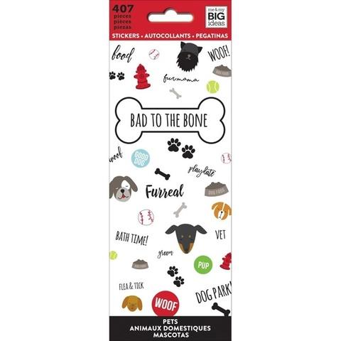 Блокнот со стикерами-MAMBI Stickers BAD to the Bone -407 шт