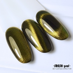 Гель лак Fresh prof 5D cat eye №4 10g