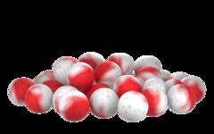 Бойлы насад. плав. двух цв. Sonik Baits TIGER NUT-SPICES Fluo Pop-ups 14мм 90мл