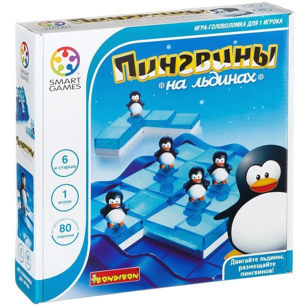Пингвины на льдинах - логическая игра BONDIBON SMARTGAMES