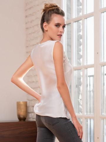 Блуза-Топ женский Mia-Amore Milan Милан 8321 белый