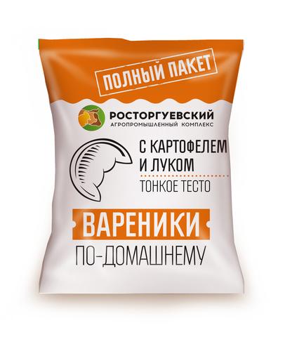 """Вареники """"Росторгуевский"""" с картофелем и луком 700г"""