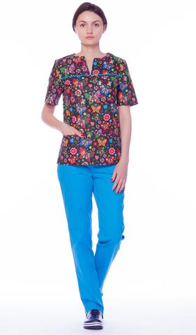 Блуза медицинская женская М 65