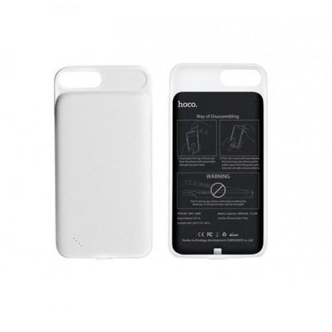 Купить чехол-зарядку для iPhone 7 Plus Hoco BW3 4000mah