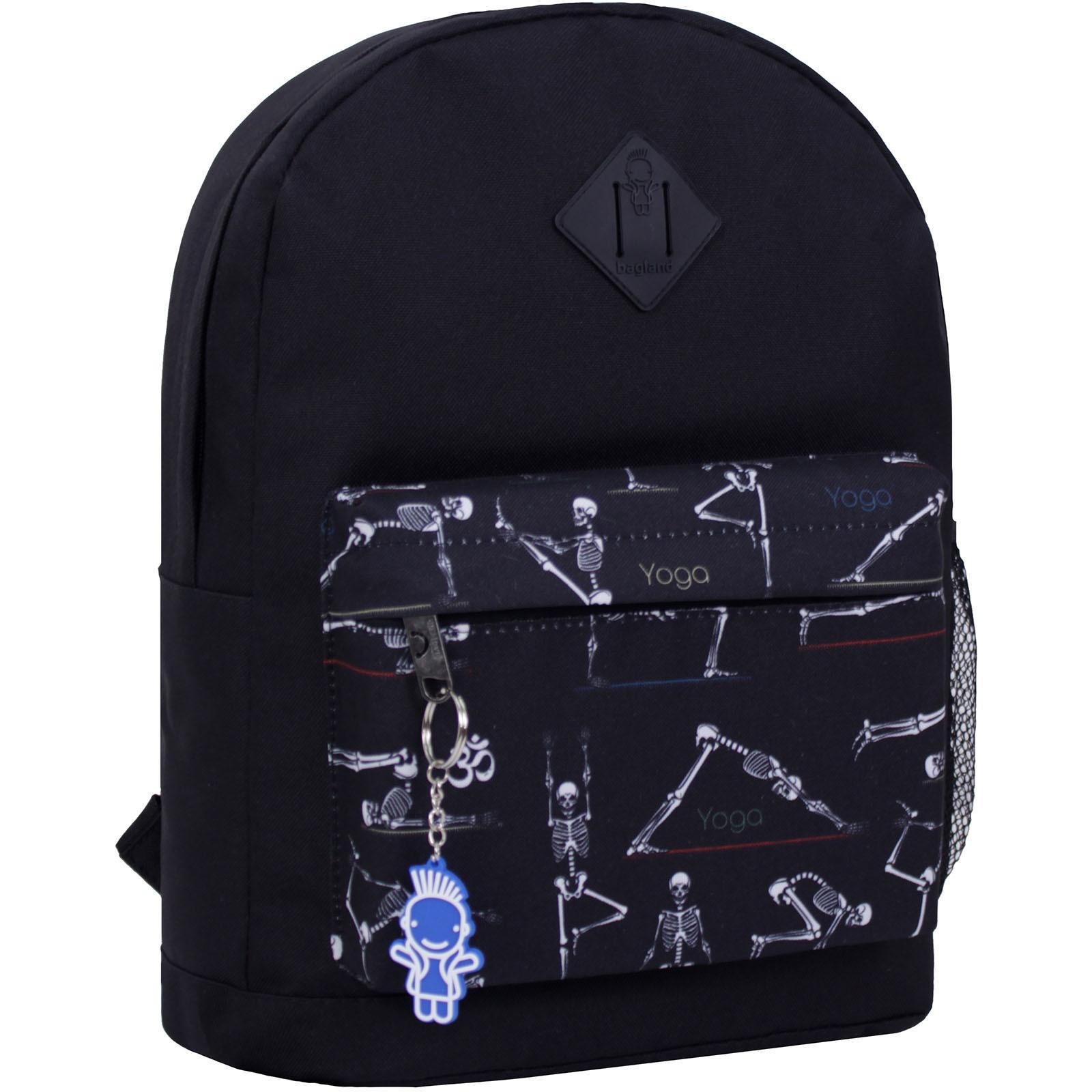 Городские рюкзаки Рюкзак Bagland Молодежный W/R 17 л. черный 449 (00533662) IMG_2254_суб.449_.JPG