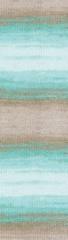 3675 (Белый, мята,бирюза,беж)