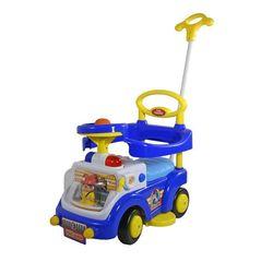Baby Care Каталка детская Fire Engine (цвет синий) (530W-2)