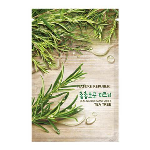 Тканевая маска с экстрактом чайного дерева 23 гр
