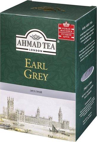 Ахмад черный Английский завтрак листовой с ароматом бергамота МИНИМАРКЕТ 200г