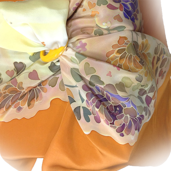 Платок Медовый цвет С-60