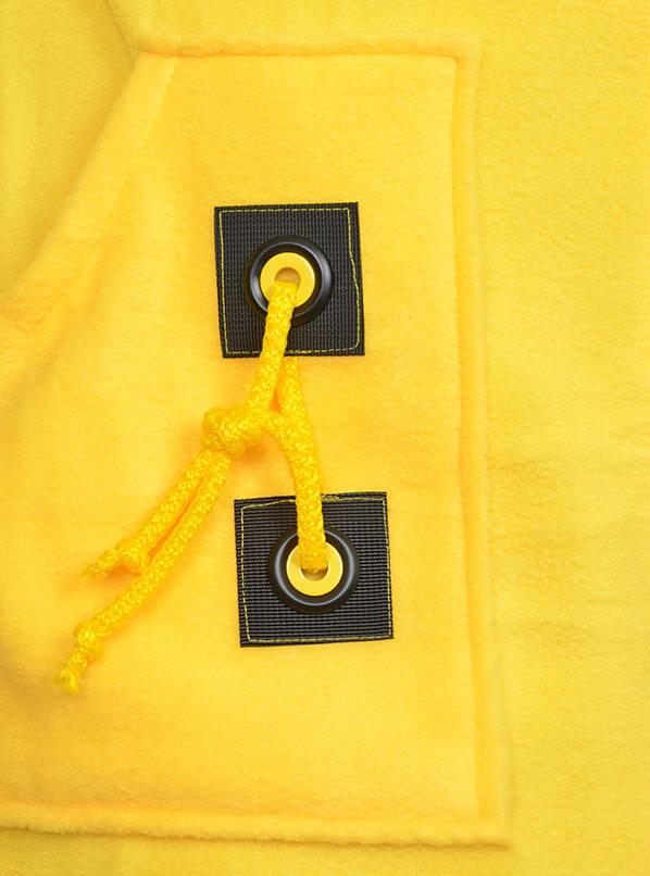 Толстовка из жёлтого флиса Эрика