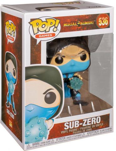 Funko POP! Games Mortal Kombat Sub-Zero    Саб-Зиро