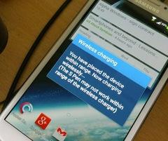 Комплект для Samsung Galaxy Note 2: беспроводная зарядка Qi + приемник-ресивер Qi