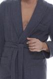 Зимний мужской халат B&B