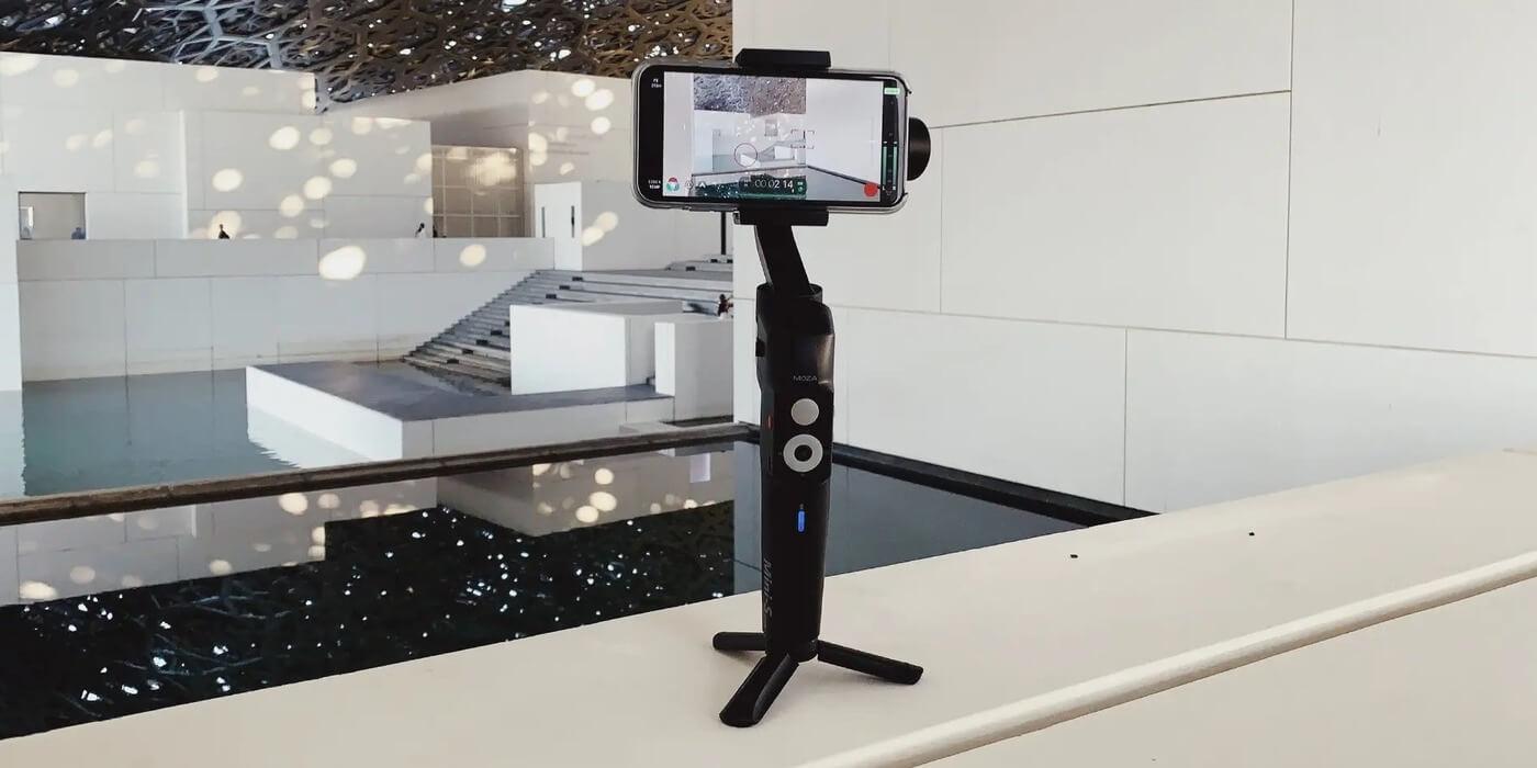 Трехосевой стабилизатор для смартфона Moza Mini-S Essential