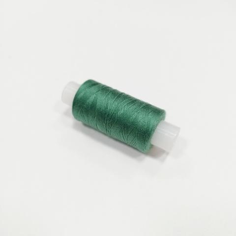 Нитки швейные 40ЛШ. Цвет Темно-зеленый