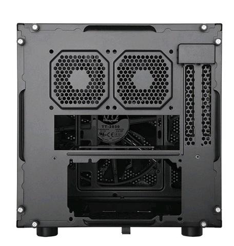 Корпус Thermaltake Suppressor F1 черный без БП miniITX 1x80mm 1x120mm 1x140mm 1x200mm 2xUSB3.0 audio bott PSU