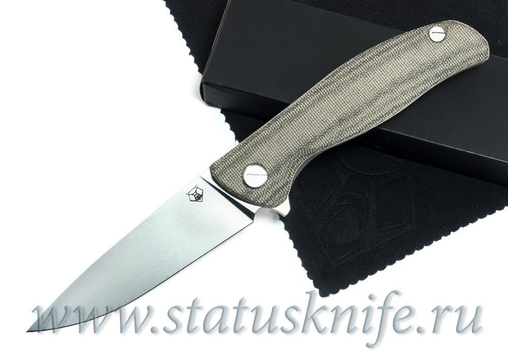 Нож Широгоров Ф3 М390 Микарта 3D роллер-подшипники