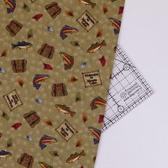 Ткань для пэчворка, хлопок 100% (арт. BE0805)