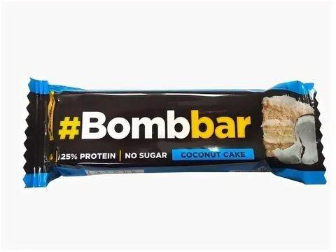 BOMBBAR Батончик глазированный Кокосовый торт 40 г