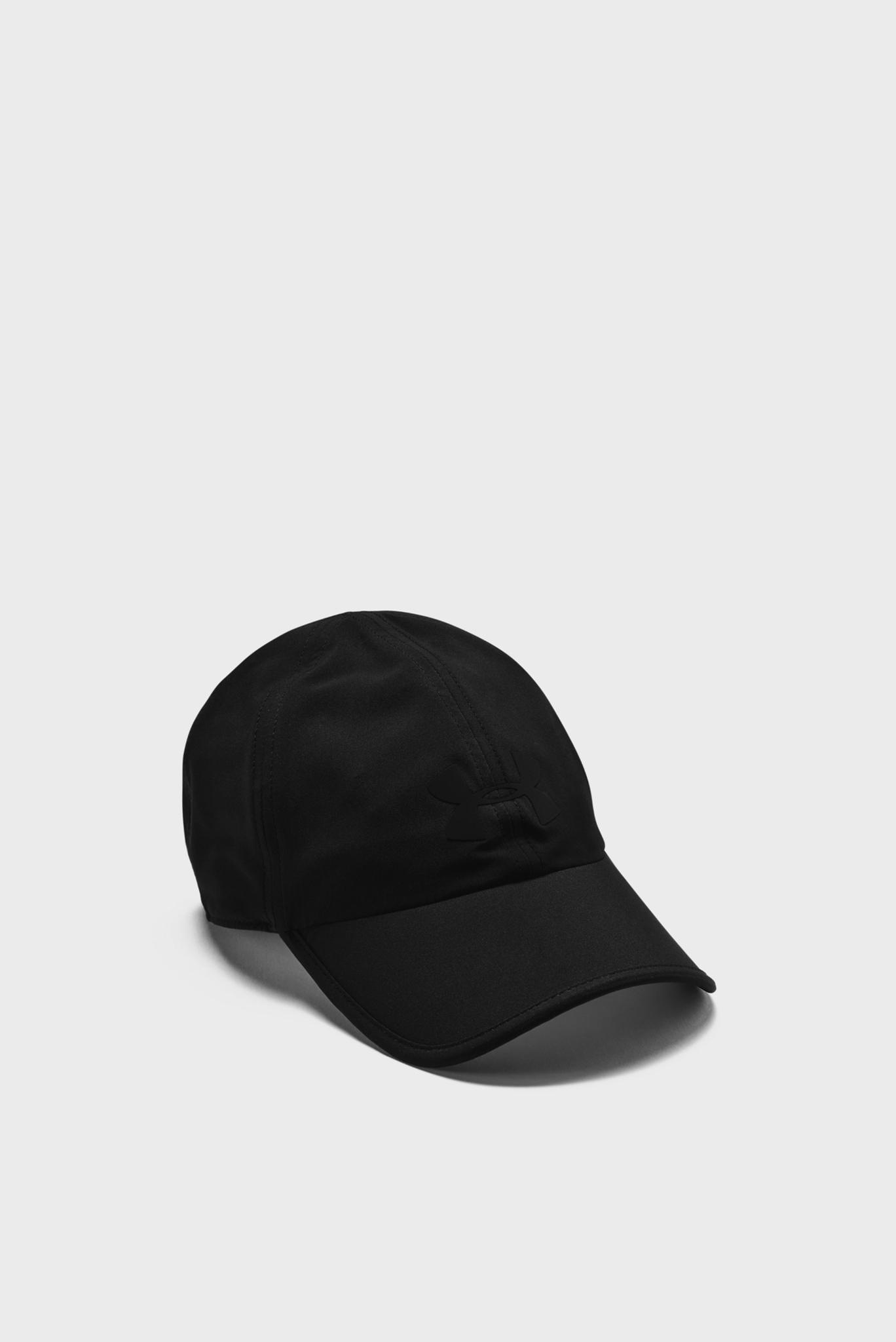 Черная кепка UA Run Shadow Cap Under Armour