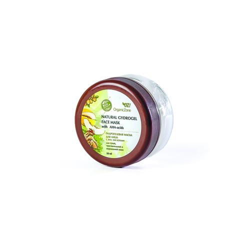 OZ! Гидрогелевая маска для лица с АНА-кислотами для сухой, чувствительной и нормальной кожи (50 мл)