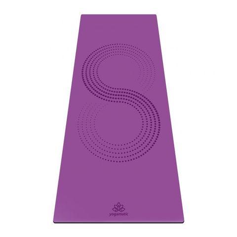 Каучуковый йога коврик для йоги Infinity 185*68*0,4 см