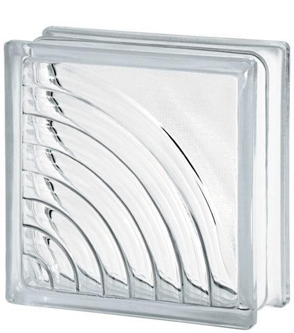Купить стеклоблок бесцветный мидарк Vitrablok 19х19х8 не дорого в Краснодаре