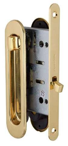 Ручка с заверткой для раздвижных дверей SH011-BK GP-2