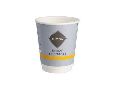 Одноразовый стакан для кофе Rioba 200 мл (50 шт)