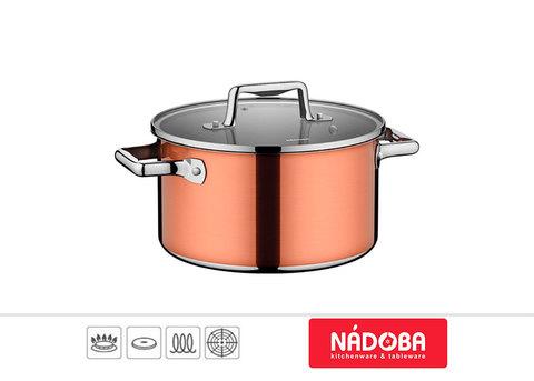 Кастрюля для индукционной плиты 5,8 литра Nadoba Medena 726811, фото