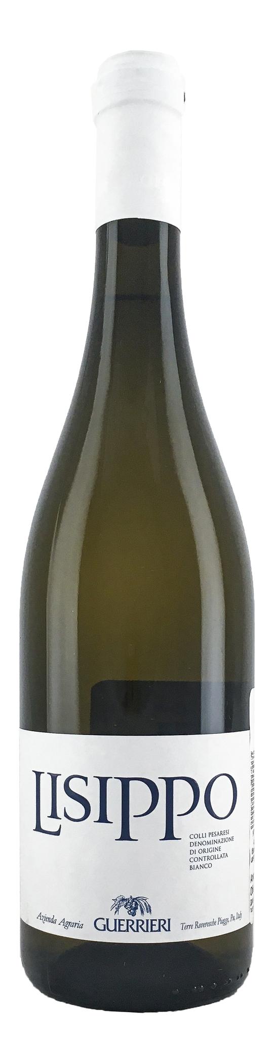 Вино Лиссипо сухое белое з.н.м.п. кат. DOC, регион Марке 0,75л.