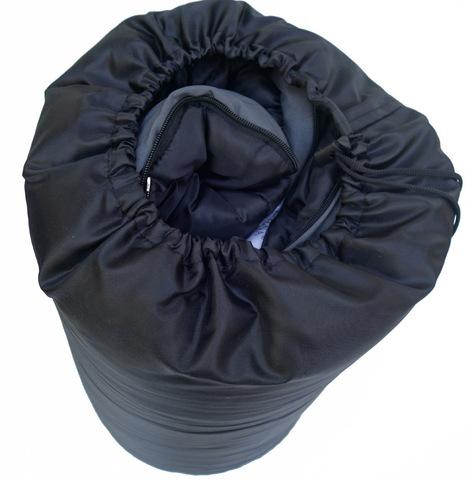 Спальный мешок INDIANA Camper Extreme, в собранном виде.