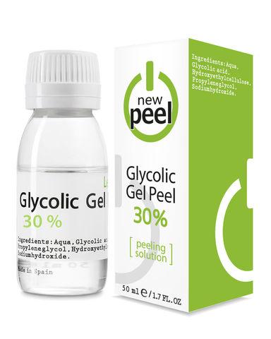 Гликолевый пилинг 30% / NEW PEEL Glycolic Gel-Peel 30% Level 1, 50 ml